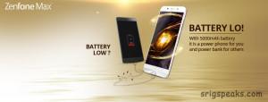 asus zenfone max battery life