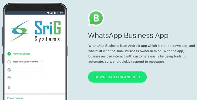 The New WhatsApp Business Application - Now In India