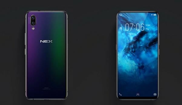 Vivo Nex  Smartphone With  Popup Camera True Bezel less Display