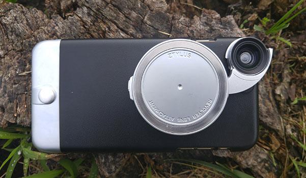 Ztylus Case With  Revolver  4  In 1  Modular Interchangeable Lens