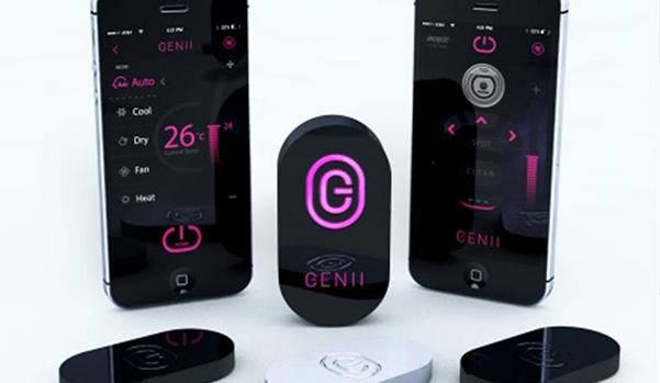GENII-EXERTS CONTROL  OVER ALL  INFRARED  HOME DEVICES
