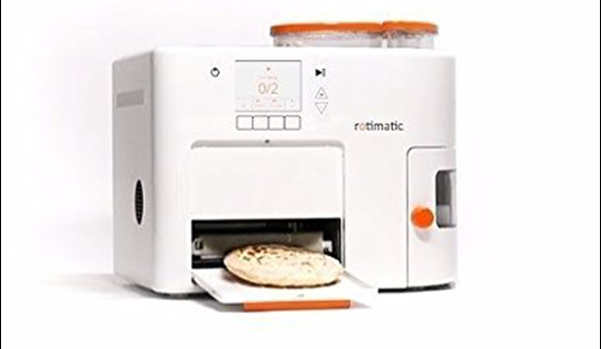 Automatic Rotimatic Robotic Roti Maker Making Home Made Roti