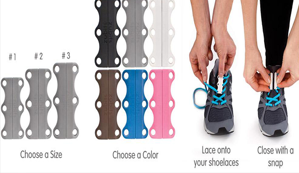 New Zubits Magnetic Shoe  Lacing Closures Never Tie Laces Again