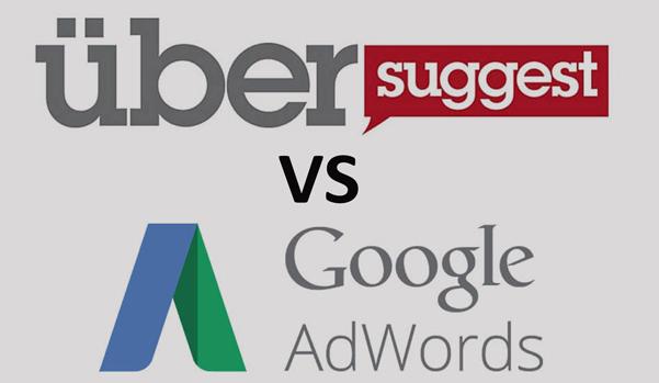 Ubersuggest VS Google keyword planner